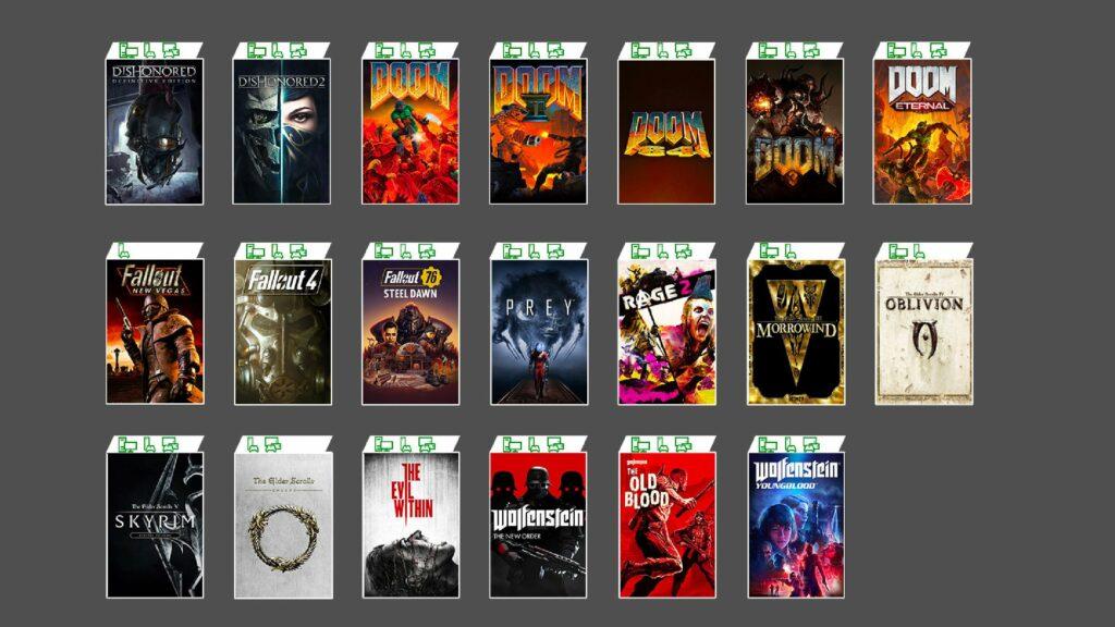 Les jeux disponibles sur le Game Pass Ultimate