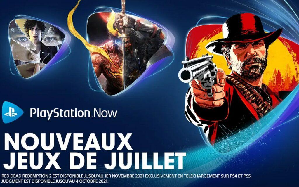 Les jeux du PlayStation Now
