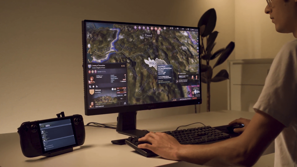 Un Steam Deck transformé en PC